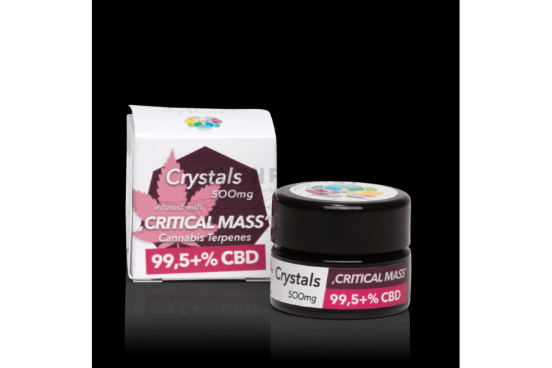 "Aromakult Crystals ""Critical Mass"" 500mg 99,5+% CBD"