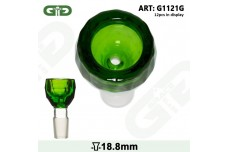 Glava za bong Grace Glass Green Diamond