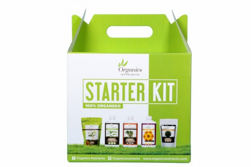 Organic Nutrients Starter Kit