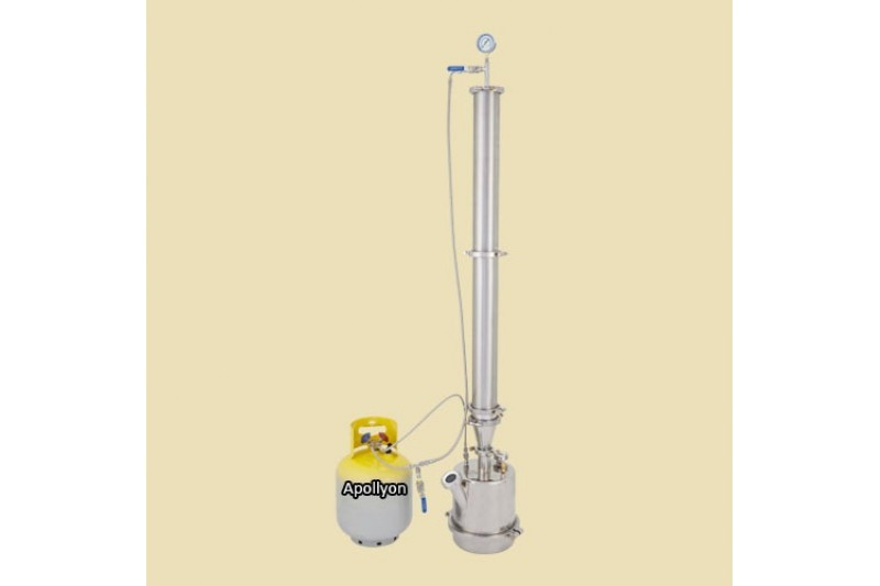 Purge Labs 2,5kg Beetle Juice Closed loop extraction system
