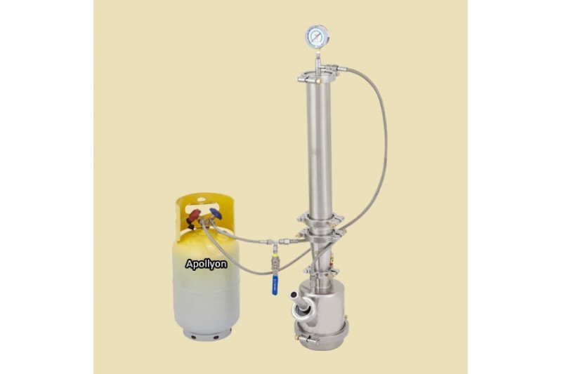 Purge Labs 500g The Pinky Closed loop extraction system