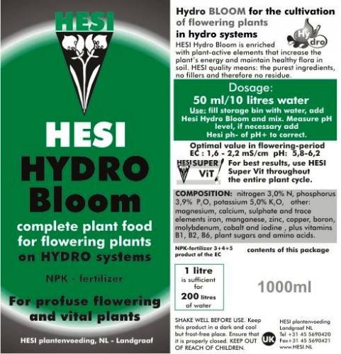 Hesi Hydro Bloom
